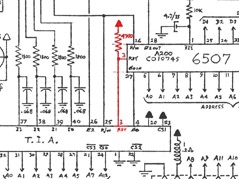 A Pause Button For The Atari 2600rhvictortrucco: Atari Wiring Diagram At Elf-jo.com